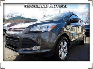 2016 Ford Escape for sale at Rockland Automall - Rockland Motors in West Nyack NY