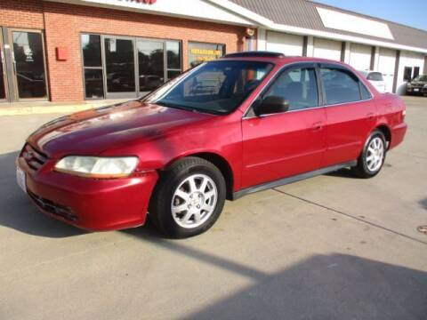 2002 Honda Accord for sale at Eden's Auto Sales in Valley Center KS