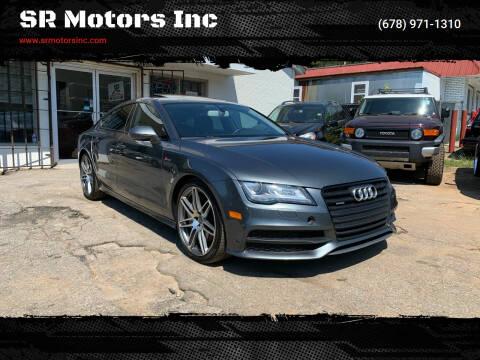 2014 Audi A7 for sale at SR Motors Inc in Gainesville GA
