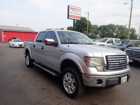 2012 Ford F-150 for sale at Marty's Auto Sales in Savage MN