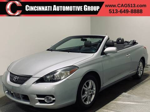 2007 Toyota Camry Solara for sale at Cincinnati Automotive Group in Lebanon OH