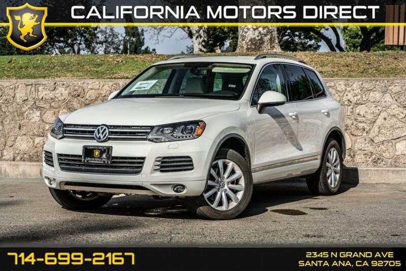 2011 Volkswagen Touareg for sale in Santa Ana, CA
