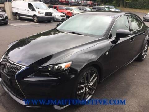 2016 Lexus IS 300 for sale at J & M Automotive in Naugatuck CT