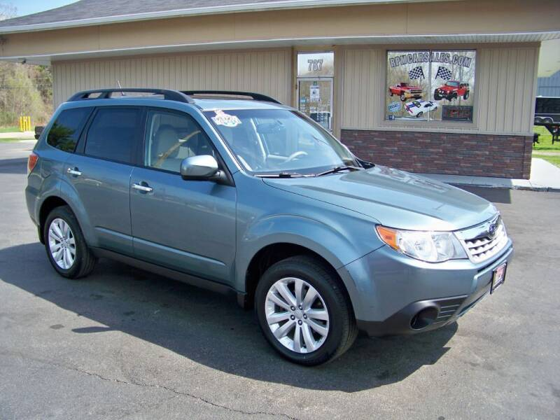 2012 Subaru Forester for sale at RPM Auto Sales in Mogadore OH
