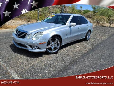 2009 Mercedes-Benz E-Class for sale at Baba's Motorsports, LLC in Phoenix AZ