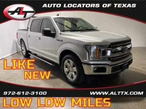 2019 Ford F-150 for sale at AUTO LOCATORS OF TEXAS in Plano TX