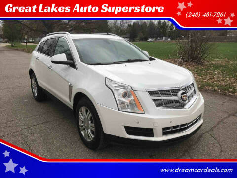 2013 Cadillac SRX for sale at Great Lakes Auto Superstore in Pontiac MI