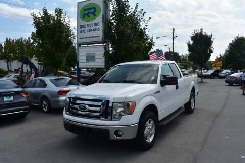 2012 Ford F-150 for sale at Rite Ride Inc in Murfreesboro TN