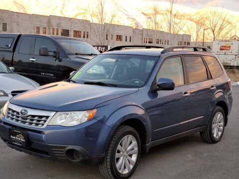 2011 Subaru Forester for sale at FRESH TREAD AUTO LLC in Springville UT
