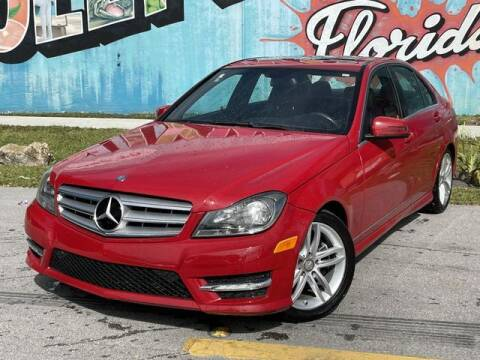 2013 Mercedes-Benz C-Class for sale at Palermo Motors in Hollywood FL