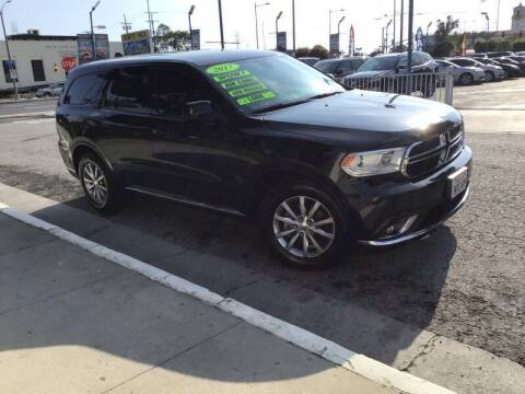 2017 Dodge Durango for sale at LA PLAYITA AUTO SALES INC - 3271 E. Firestone Blvd Lot in South Gate CA