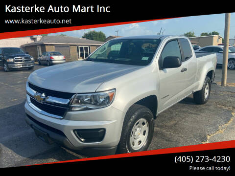 2018 Chevrolet Colorado for sale at Kasterke Auto Mart Inc in Shawnee OK