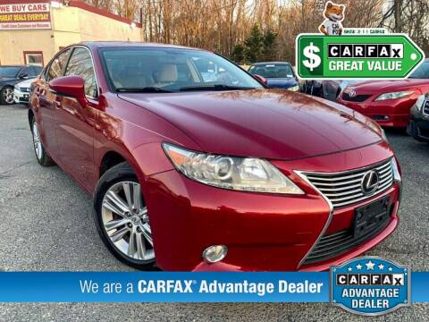 2013 Lexus ES 350 for sale at High Rated Auto Company in Abingdon MD