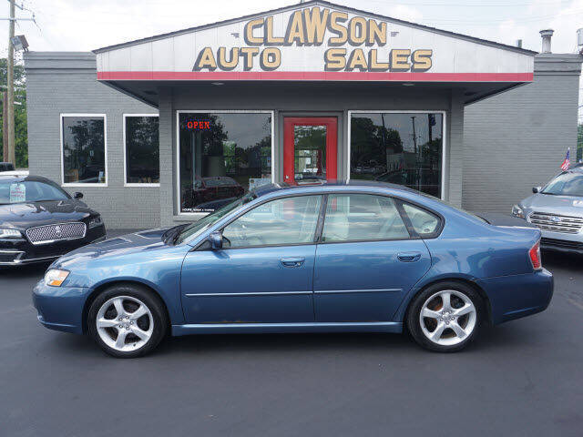 2007 Subaru Legacy for sale at Clawson Auto Sales in Clawson MI
