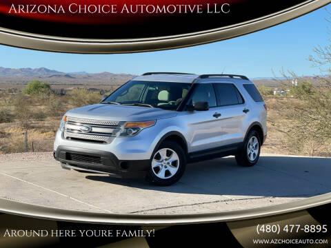 2012 Ford Explorer for sale at Arizona Choice Automotive LLC in Mesa AZ