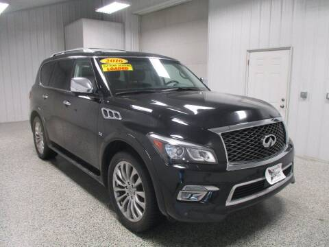 2016 Infiniti QX80 for sale at LaFleur Auto Sales in North Sioux City SD
