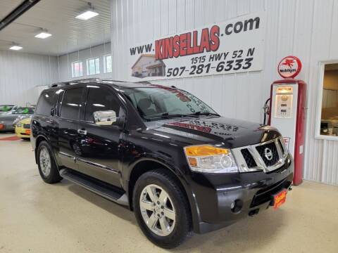 2012 Nissan Armada for sale at Kinsellas Auto Sales in Rochester MN