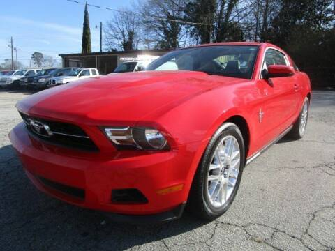 2012 Ford Mustang for sale at Lewis Page Auto Brokers in Gainesville GA