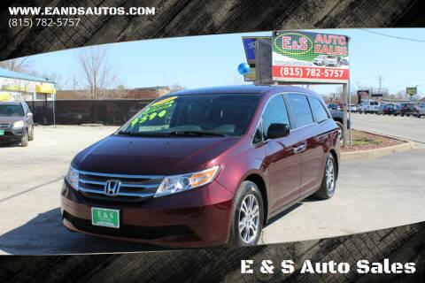 2011 Honda Odyssey for sale at E & S Auto Sales in Crest Hill IL