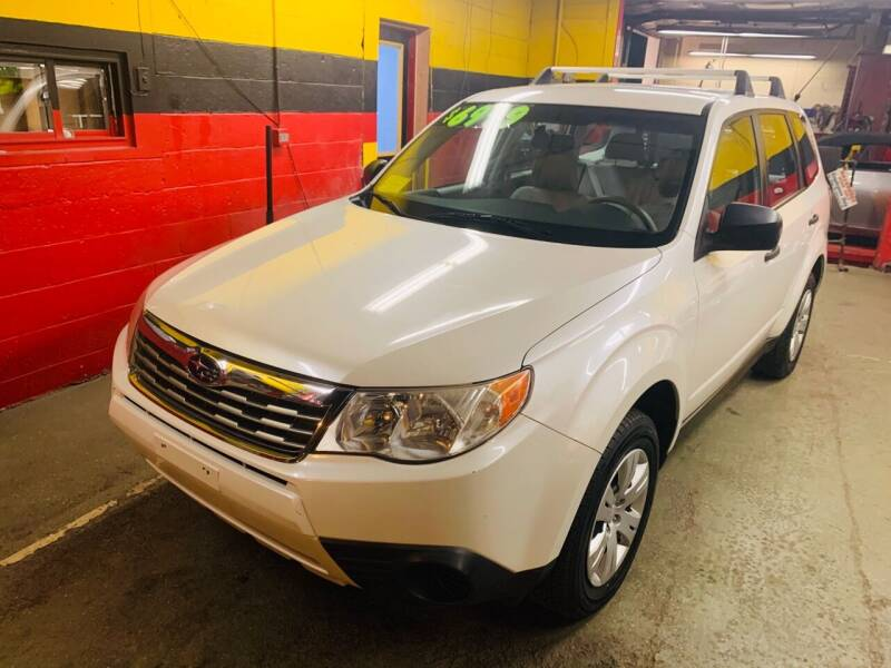 2009 Subaru Forester for sale at Milford Automall Sales and Service in Bellingham MA