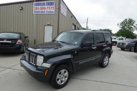 2010 Jeep Liberty for sale at Universal Credit in Houston TX