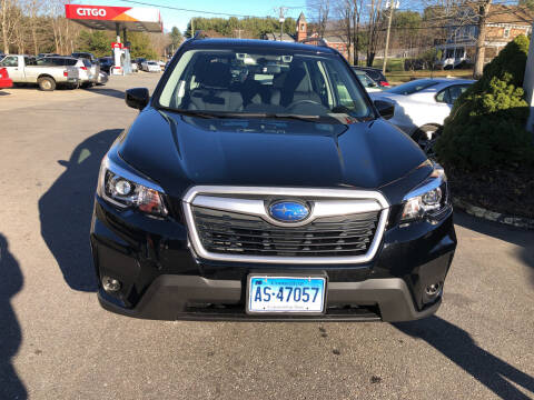 2020 Subaru Forester for sale at Sorel's Garage Inc. in Brooklyn CT