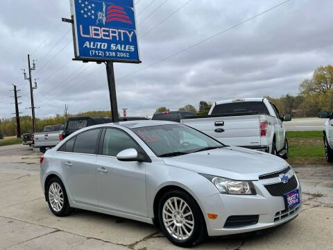 2011 Chevrolet Cruze for sale at Liberty Auto Sales in Merrill IA