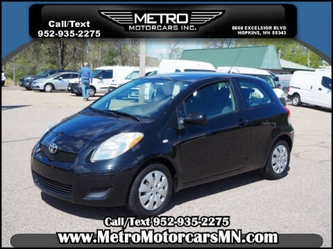 2010 Toyota Yaris for sale at Metro Motorcars Inc in Hopkins MN