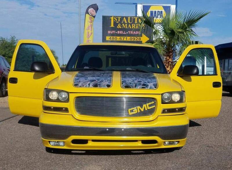 2001 GMC Sierra 1500 for sale at 1ST AUTO & MARINE in Apache Junction AZ