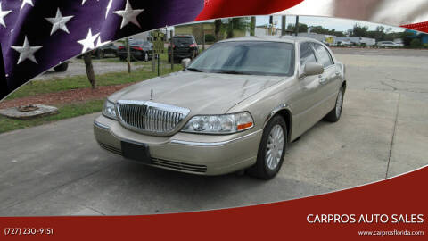 2005 Lincoln Town Car for sale at Carpros Auto Sales in Largo FL