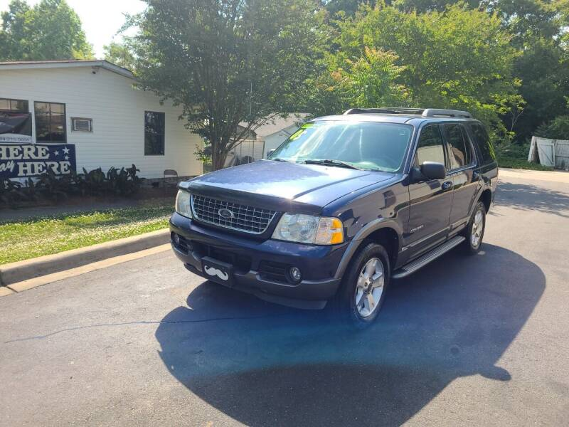 2005 Ford Explorer for sale at TR MOTORS in Gastonia NC