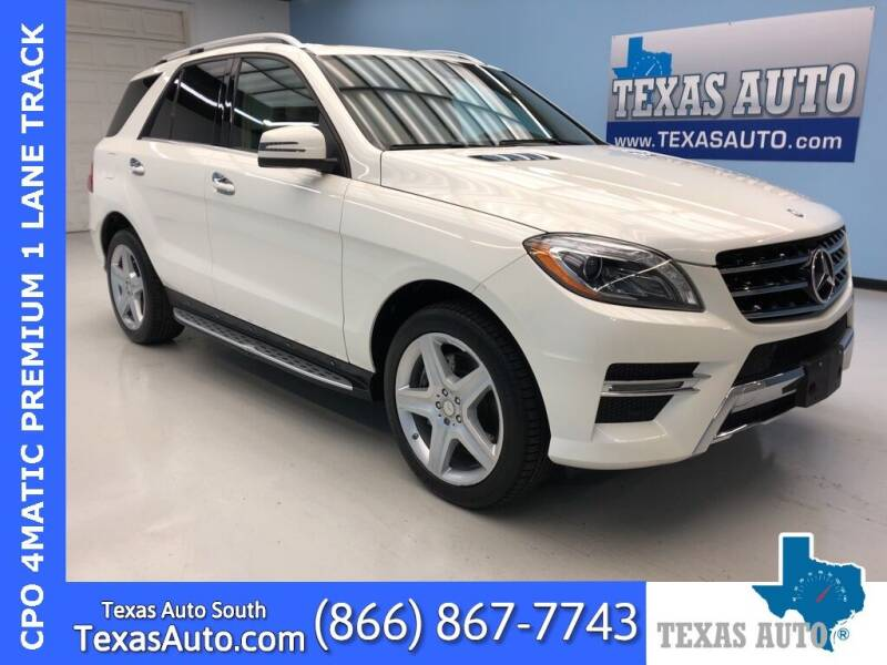 2014 Mercedes-Benz M-Class for sale in Houston, TX