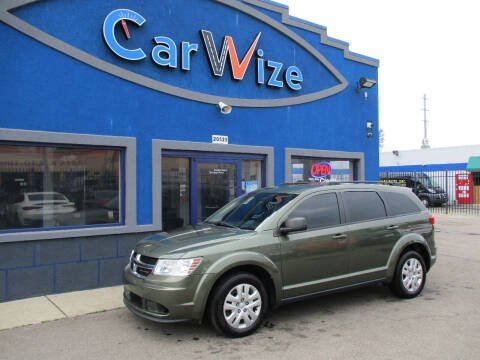 2017 Dodge Journey for sale at Carwize in Detroit MI
