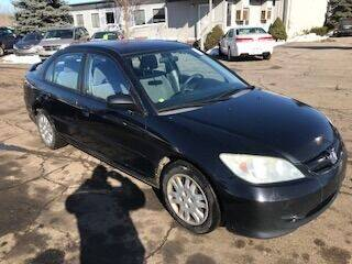 2005 Honda Civic for sale at WELLER BUDGET LOT in Grand Rapids MI