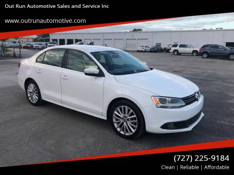2011 Volkswagen Jetta for sale at Out Run Automotive Sales and Service Inc in Tampa FL