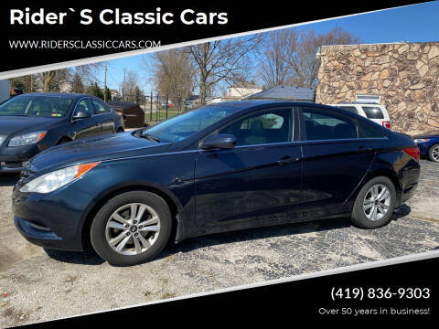 2012 Hyundai Sonata for sale at Rider`s Classic Cars in Millbury OH