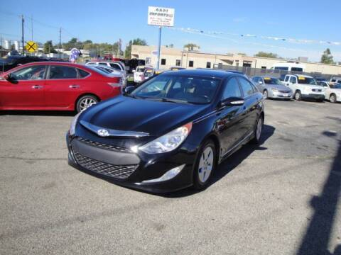 2012 Hyundai Sonata Hybrid for sale at A&S 1 Imports LLC in Cincinnati OH