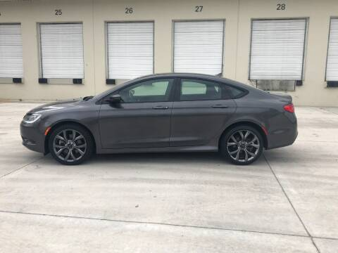 2015 Chrysler 200 for sale at EUROPEAN AUTO ALLIANCE LLC in Coral Springs FL