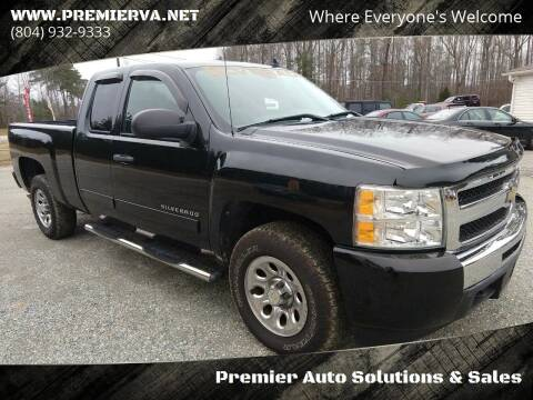 2011 Chevrolet Silverado 1500 for sale at Premier Auto Solutions & Sales in Quinton VA