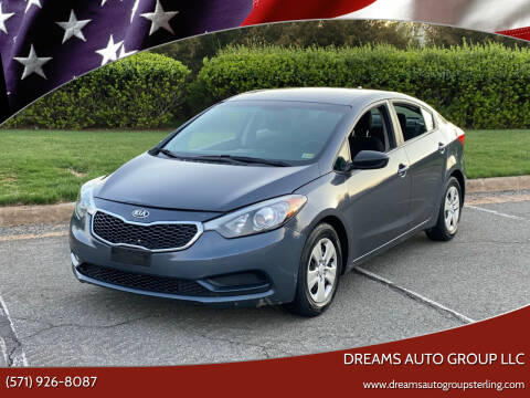 2016 Kia Forte for sale at Dreams Auto Group LLC in Sterling VA