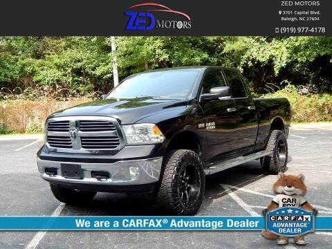 2013 RAM Ram Pickup 1500 for sale at Zed Motors in Raleigh NC