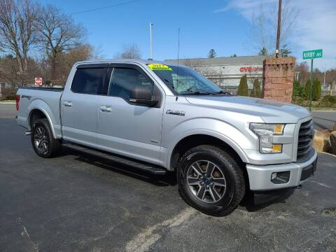2017 Ford F-150 for sale at R C Motors in Lunenburg MA