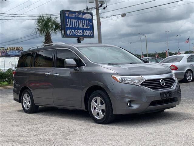 2016 Nissan Quest for sale at Winter Park Auto Mall in Orlando FL