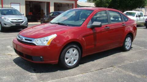 2009 Ford Focus for sale at Red Rock Auto LLC in Oklahoma City OK