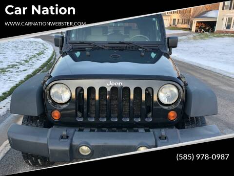 2009 Jeep Wrangler for sale at Car Nation in Webster NY