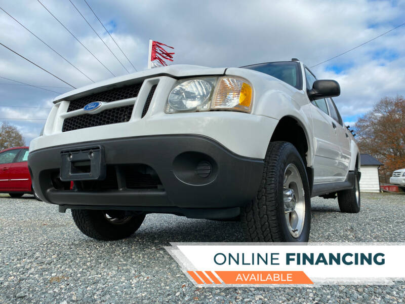 2004 Ford Explorer Sport Trac for sale at Prime One Inc in Walkertown NC