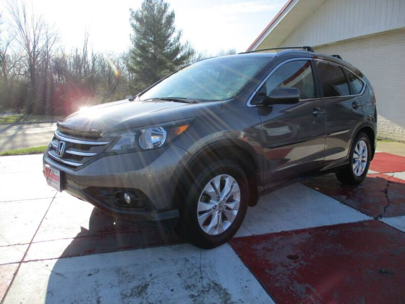 2014 Honda CR-V for sale at TEAM ANDERSON AUTO GROUP INC in Richmond IN