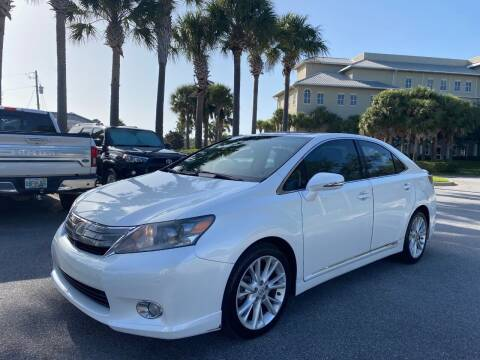 2010 Lexus HS 250h for sale at Gulf Financial Solutions Inc DBA GFS Autos in Panama City Beach FL