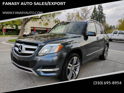 2013 Mercedes-Benz GLK for sale at FANASY AUTO SALES/EXPORT in Yorba Linda CA