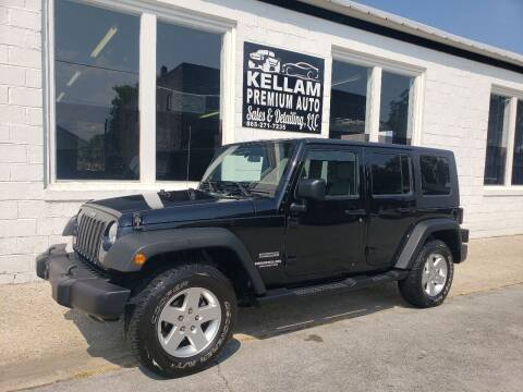 2010 Jeep Wrangler Unlimited for sale at Kellam Premium Auto Sales & Detailing LLC in Loudon TN